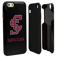 Santa Clara University Custom iPhone 6, 6s Case. Black