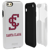 Santa Clara University Custom iPhone 6, 6s Case. White