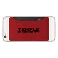 LXG Cellphone Card Holder, Red