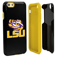 Louisiana State University Custom iPhone 6, 6s Case. Black