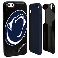 Penn State University Custom iPhone 6, 6s Case. Black