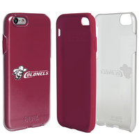 US DIGITAL MEDIA, INC DP1 Hybrid Case for iPhone 7 Clear with Maroon