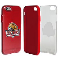 US DIGITAL MEDIA, INC DP1 Hybrid Case for iPhone 7 Clear with Red