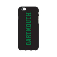 Centon Dartmouth College Black Phone Case, Classic V1  iPhone 77S