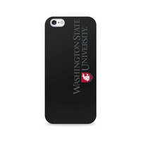 Centon Washington State University Black Phone Case, Classic  iPhone 77S