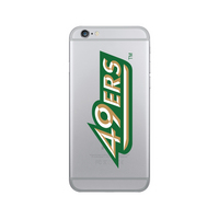 Centon University of North Carolina at Charlotte Clear Phone Case, Classic V1  iPhone 7 Plus