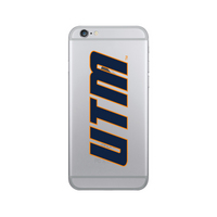 Centon University of Tennessee  Martin Clear Phone Case, Classic V1  iPhone 77S