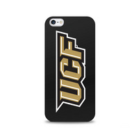 Centon University of Central Florida Black Phone Case, Classic  iPhone 77S