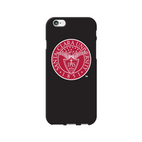Centon Santa Clara University V2 Black Phone Case, Classic  iPhone 77S