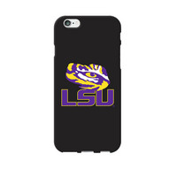 Centon Louisiana State University Black Phone Case, Classic V1 iPhone 77S