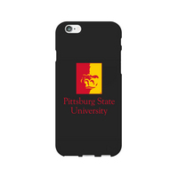 Centon Pittsburgh State University Black Phone Case, Classic  iPhone 77S