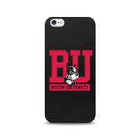 Centon Boston University Black Phone Case, Classic  iPhone 77S