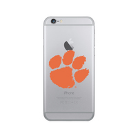 Centon Clemson University Clear Phone Case, Classic V1  iPhone 77S