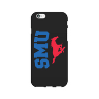 Centon Southern Methodist University Black Phone Case, Classic  iPhone 77S