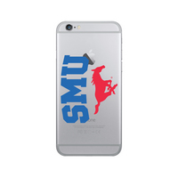 Centon Southern Methodist University Clear Phone Case, Classic  iPhone 7 Plus