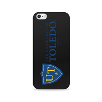 Centon University of Toledo Black Phone Case, Classic V1  iPhone 7 Plus