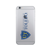 Centon University of Toledo Clear Phone Case, Classic V1  iPhone 77S