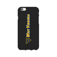 Centon West Virginia University Black Phone Case, Classic V1  iPhone 77S