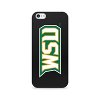 Centon Wright State University Black Phone Case, Classic  iPhone 77S