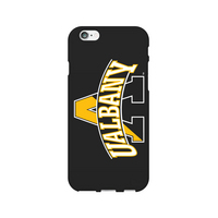 Centon University of Albany Black Phone Case, Classic  iPhone 77S