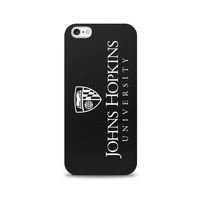 Centon Johns Hopkins University Black Phone Case, Classic  iPhone 77S