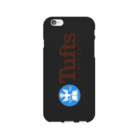 Centon Tufts University Black Phone Case, Classic  iPhone 7 Plus