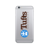 Centon Tufts University Clear Phone Case, Classic  iPhone 77S