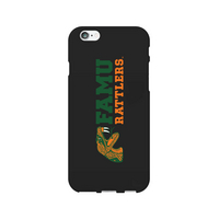 Centon Florida A&M University Black Phone Case, Classic V1  iPhone 77S