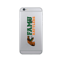 Centon Florida A&M University Clear Phone Case, Classic V1  iPhone 77S