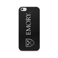 Centon Emory University Black Phone Case, Classic  iPhone 77S