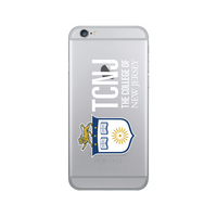 Centon The College of New Jersey Clear Phone Case, Classic  iPhone 7 Plus