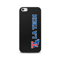 Centon Louisiana Tech University Black Phone Case, Classic  iPhone 77S