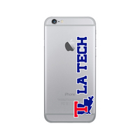 Centon Louisiana Tech University Clear Phone Case, Classic  iPhone 77S