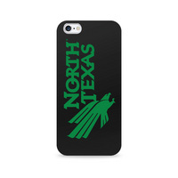 Centon University of North Texas Black Phone Case, Classic  iPhone 77S