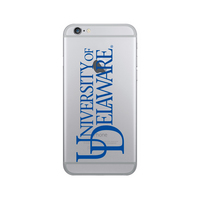 Centon University of Delaware Clear Phone Case, Classic  iPhone 77S