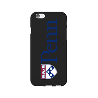 Centon University of Pennsylvania Black Phone Case, Classic  iPhone 77S