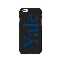 Centon Yale University Black Phone Case, Classic  iPhone 77S