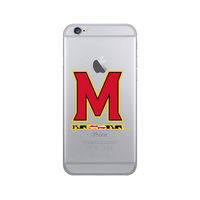 Centon University of Maryland Clear Phone Case, Classic V1  iPhone 7 Plus