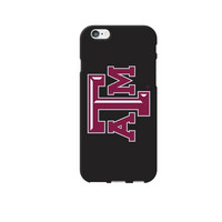 Centon Texas A&M University Black Phone Case, Classic  iPhone 77S