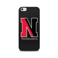 Centon Northeastern University Black Phone Case, Classic  iPhone 77S