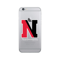 Centon Northeastern University Clear Phone Case, Classic V1  iPhone 7 Plus