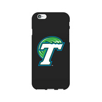 Centon Tulane University V2 Black Phone Case, Classic V1  iPhone 66S