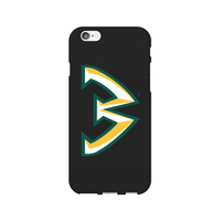 Centon Wayne State University Black Phone Case, Classic V1  iPhone 77S