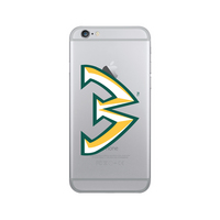 Centon Wayne State University Clear Phone Case, Classic V1  iPhone 77S