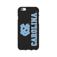Centon University of North Carolina Black Phone Case, Classic V1  iPhone 66S