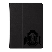 Ohio State University Custom Logo Embossed Leather iPad Air Folio Case Blk