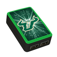 University of South Florida Custom Dual Port Wall Charger