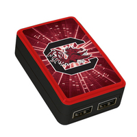 University of South Carolina Custom Dual Port Wall Charger
