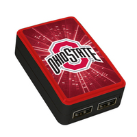 The Ohio State University Custom Dual Port Wall Charger