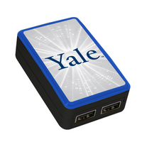 Yale University Custom Dual Port Wall Charger